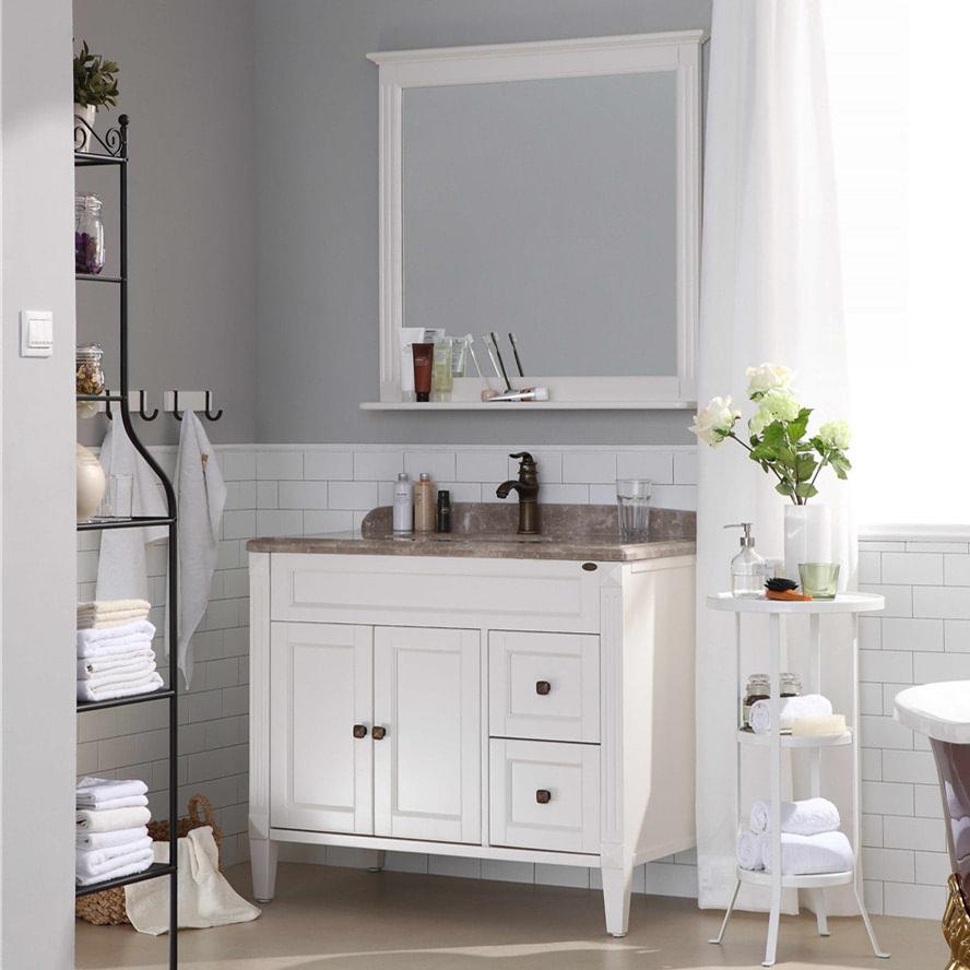 American Style Bathroom Vanities With Tops For Sale