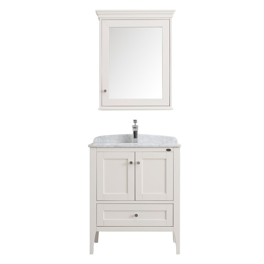 American Style Solid Wood Bathroom Vanity Units