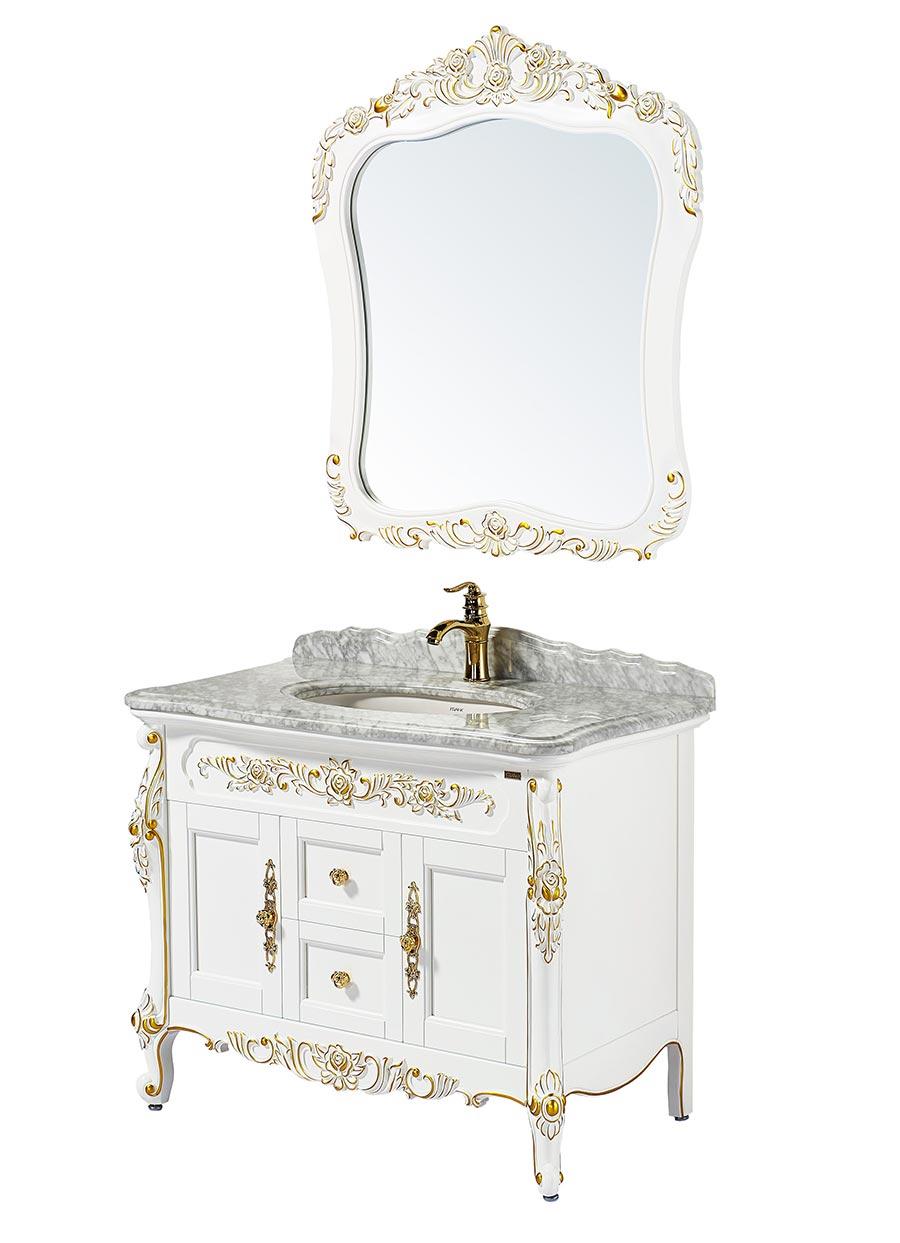 Antique Bathroom Vanities With Mirror