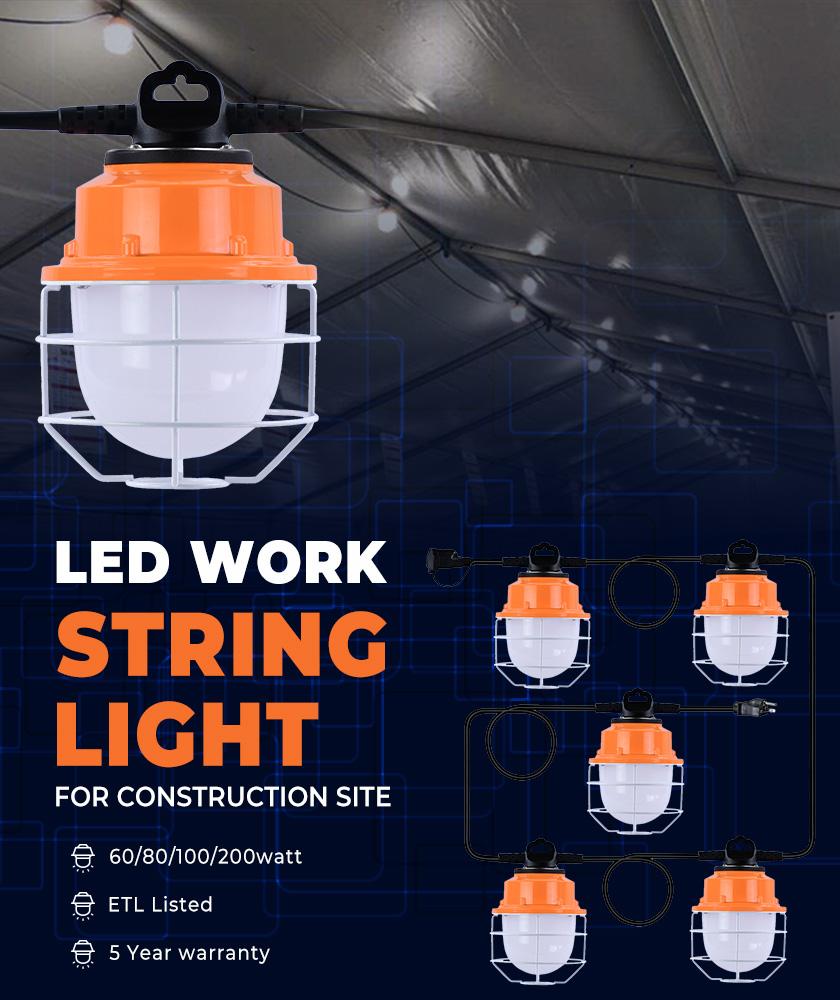 LED string light,Loading dock light,Job light